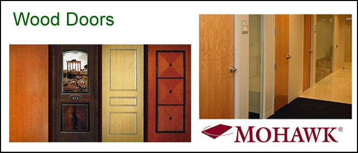 Commercial Wooden Doors
